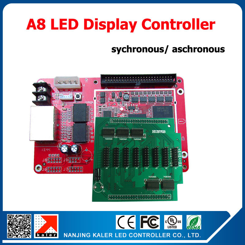 Card A8 điều khiển màn hình LED full color