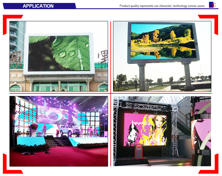 Module LED P8 full color outdoor