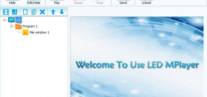 phần mềm LED Mplayer 2.0.1