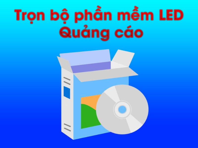 Bộ phần mềm LED quảng cáo